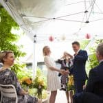 GTA Marriage Officiant With Celebrating Couple